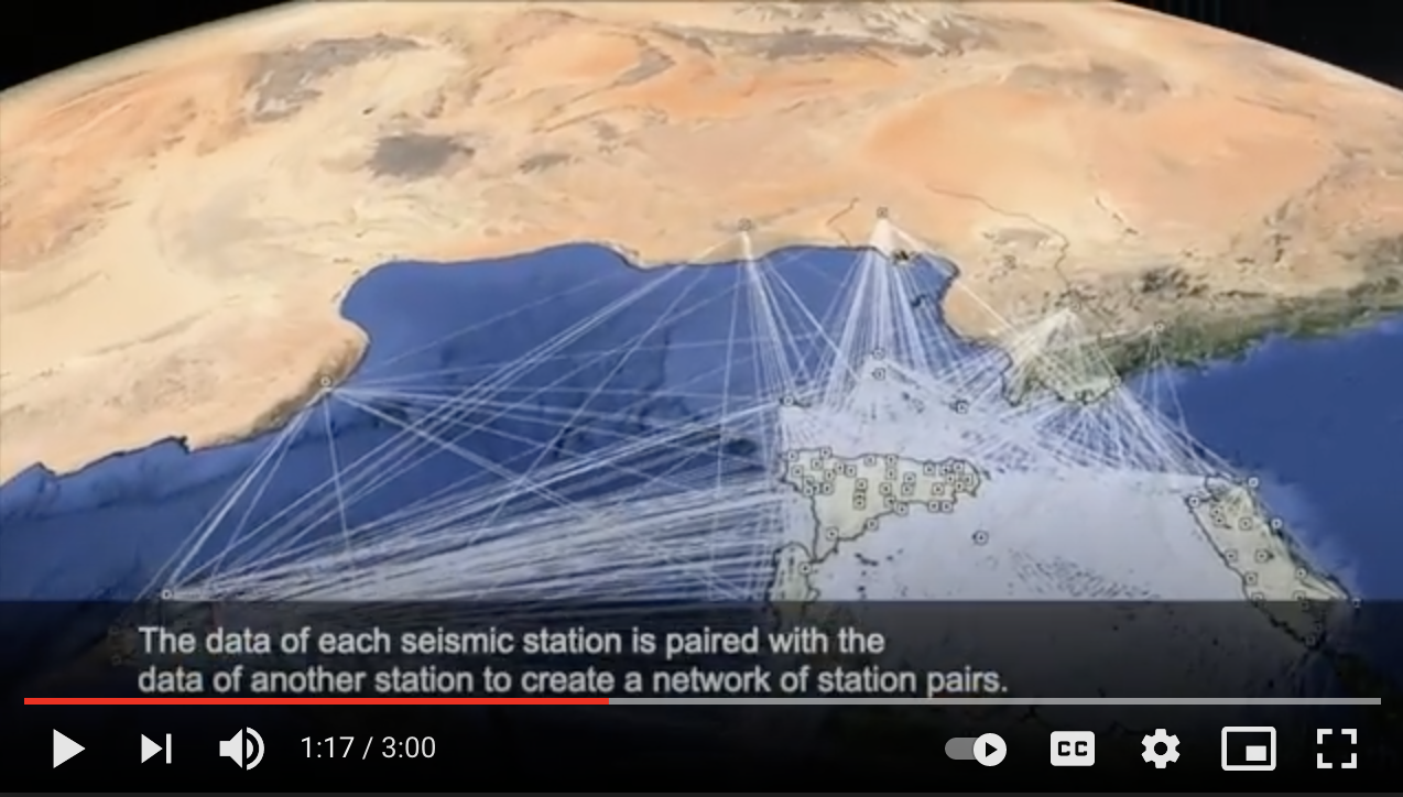 Watch GEOMED promotional video for the European Research Night (2929).